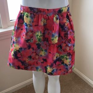 Mustard Seed Printed Multi Skirt , Size Medium